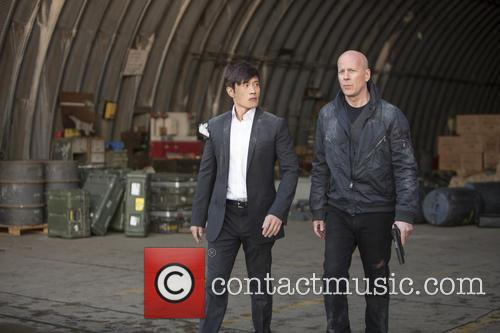Byung Hun Lee and Bruce Willis 3
