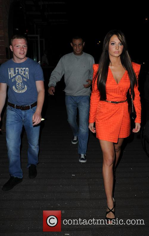Tulisa In Manchester