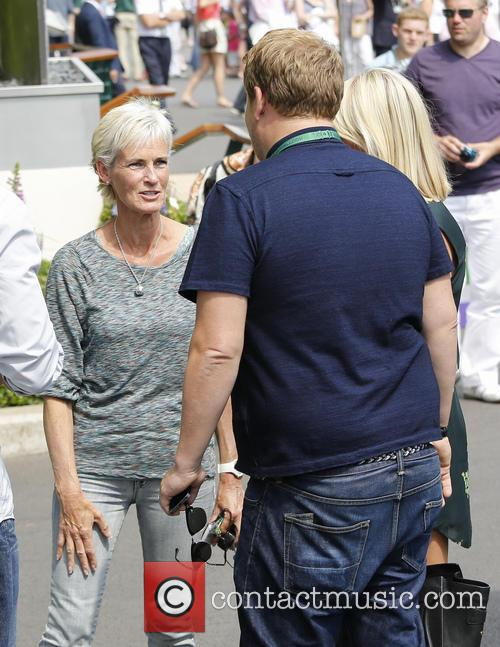 Julia Carey, James Corden and Judy Murray 9