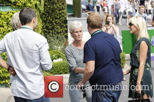 Julia Carey, James Corden and Judy Murray 10