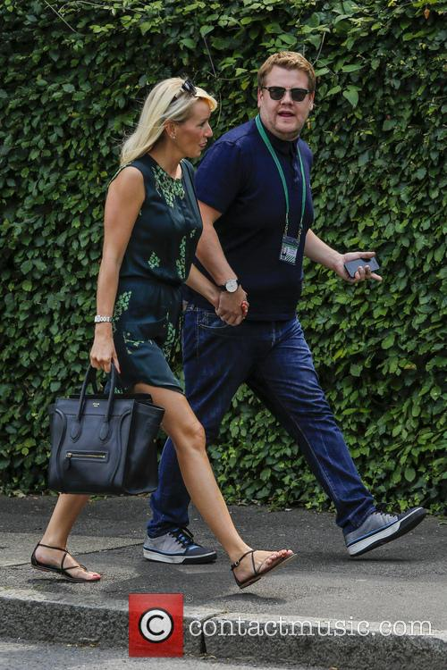 Julia Carey and James Corden 3