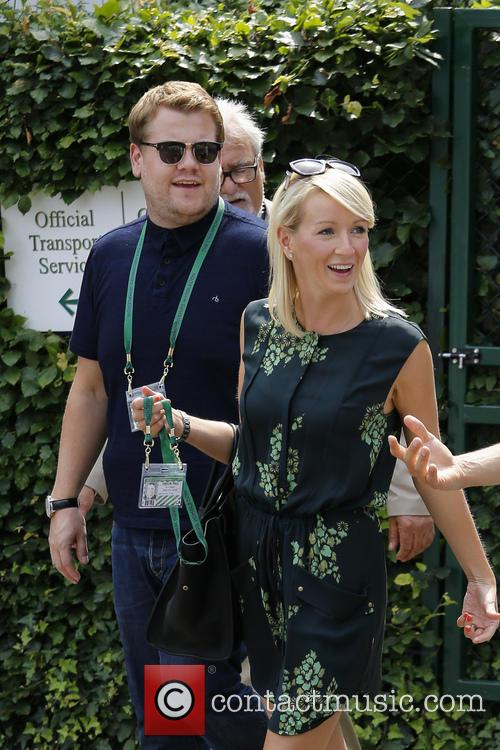 Julia Carey and James Corden 4