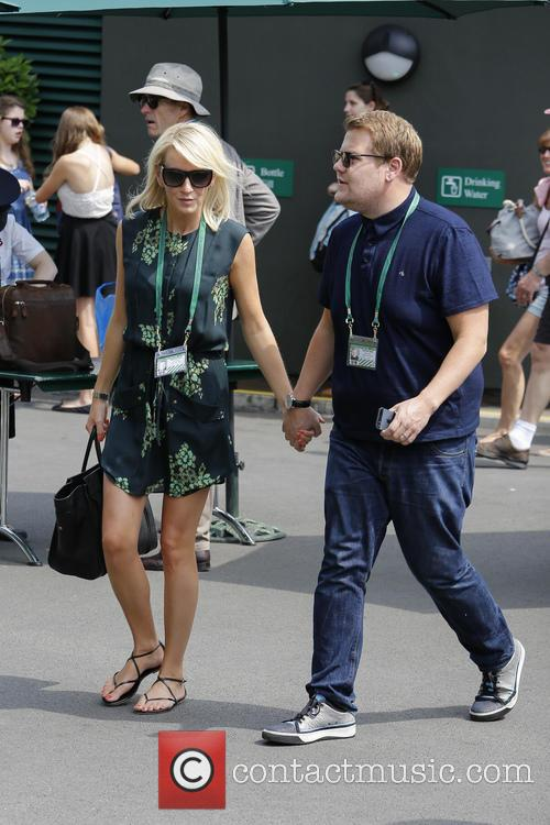 Julia Carey and James Corden 5