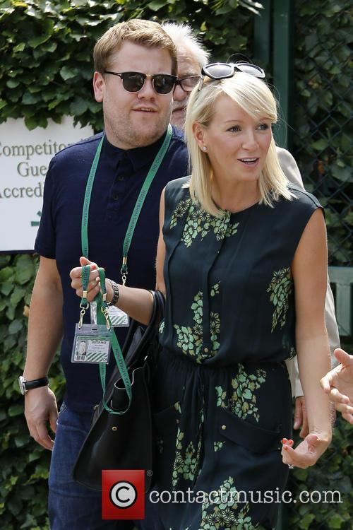 Julia Carey and James Corden 8