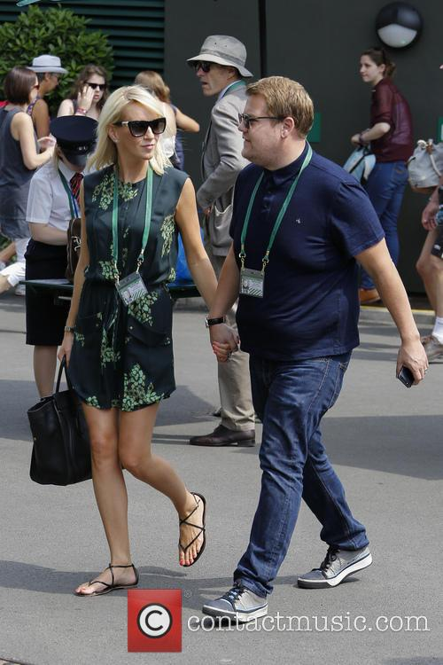 Julia Carey and James Corden 11