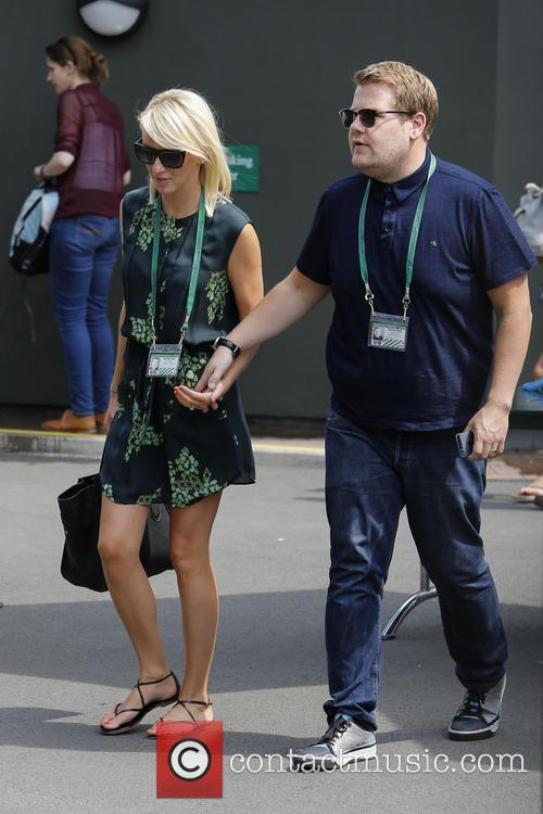 julia carey james corden wimbledon tennis championship 2013 3747313