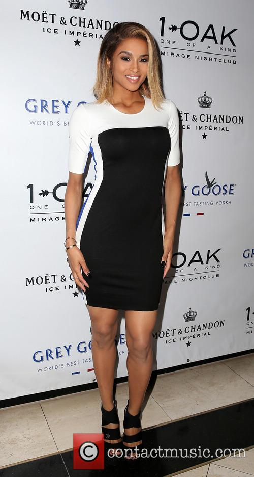 Ciara Album Release Party at 1 Oak Nightclub