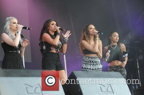Perrie Edwards, Jesy Nelson and Jade Thirlwall 2