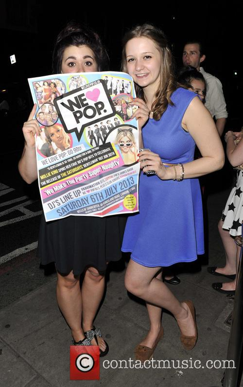 Mollie King, Bells, Shoreditch and We Love Pop 1