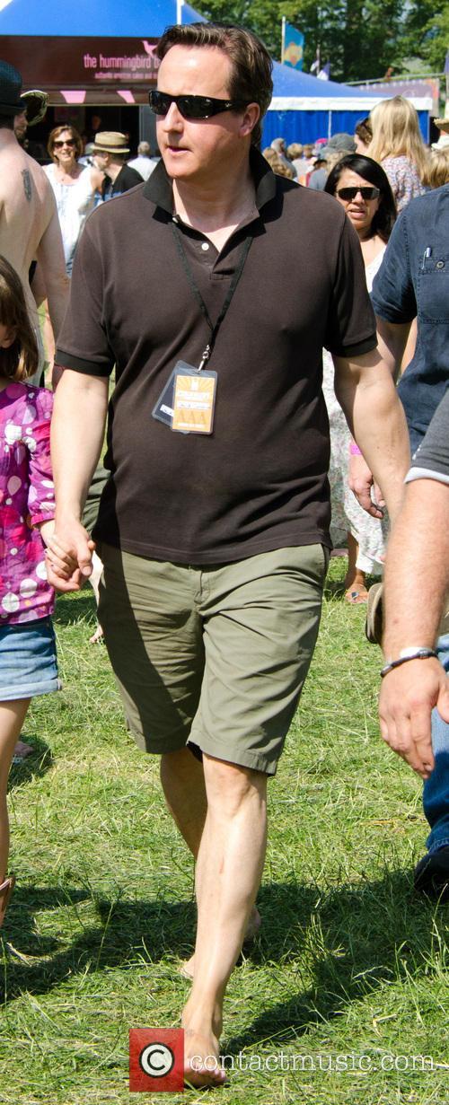 David Cameron at Cornbury Festival
