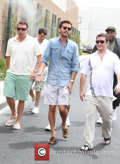 Scot Disick hosts 'Hamptons in the Desert Party' at Sapphire Pool and Day Club