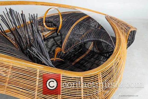 A concept car made of bamboo that explores...