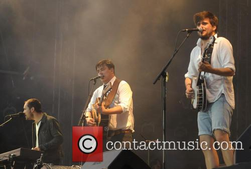 Ben Lovett, Winston Marshall, Mumford and Sons 5
