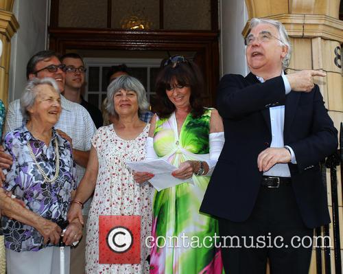 Bill Kenwright, Vikki Michelle and Edith Sykes 7