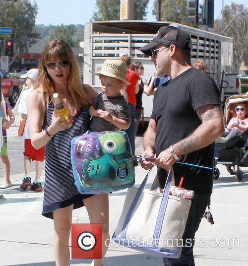 Selma Blair, Archie Bleick and Jason Bleick 2