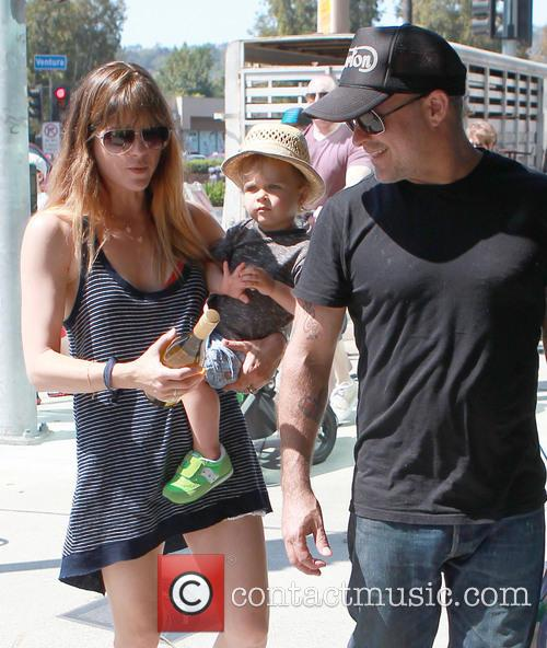 Selma Blair, Archie Bleick and Jason Bleick 5