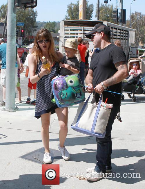Selma Blair, Archie Bleick and Jason Bleick 7
