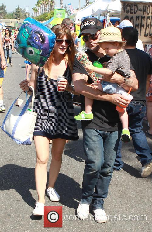Selma Blair, Jason Bleick and Archie Bleick 10