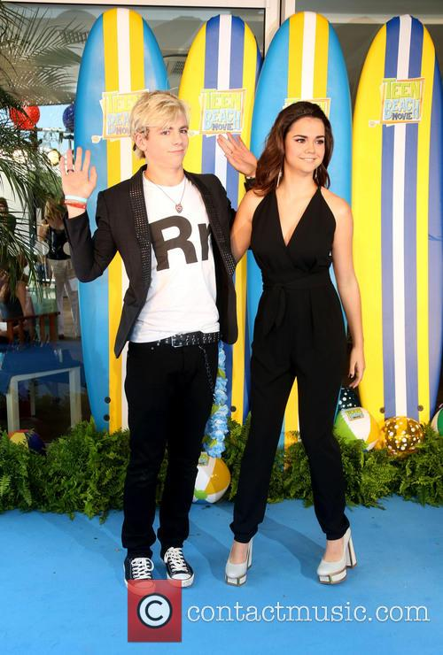 Ross Lynch and Maia Mitchell 8