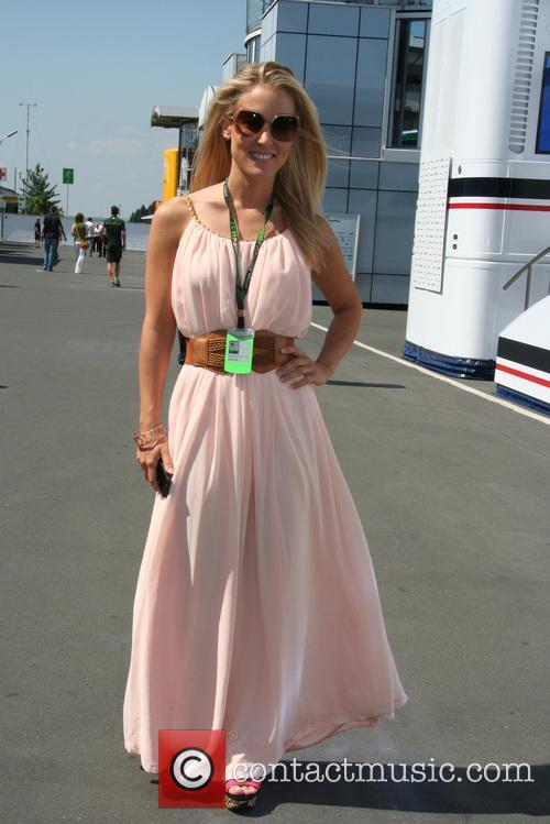 Formula One, Jennifer Becks and Die Freundin Von Adrian Sutil - Girl Friend Of Adrian Sutil - 2