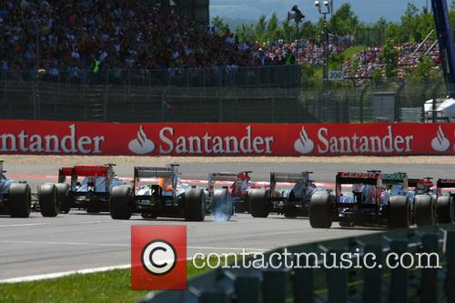 Formula One, Start and Gp Of Germany 2013  - Rear View 1