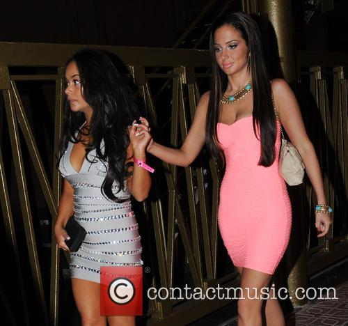 Tulisa Contostavlos and Chelsee Healey
