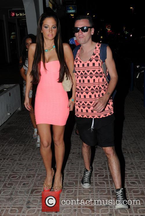 Tulisa Contostavlos and Gareth Varey 2