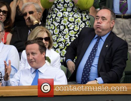 David Cameron and Alex Salmond 7