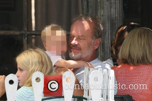 Kelsey Grammer and Faith Evangeline Elisa Grammer 3