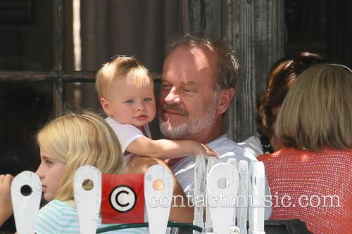 Kelsey Grammer and Faith Evangeline Elisa Grammer 9