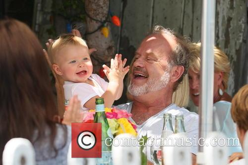 Kelsey Grammer and Faith Evangeline Elisa Grammer 1
