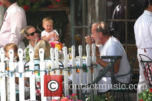 Kelsey Grammer, Kayte Walsh and Faith Evangeline Elisa Grammer 5