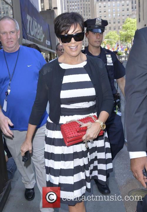 kris jenner celebrities outside rockefeller plaza for 3749167