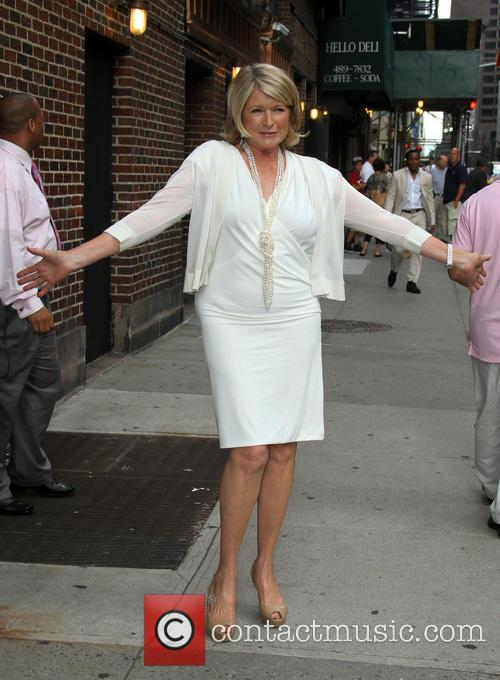 martha stewart celebrities appear on the letterman 3750097
