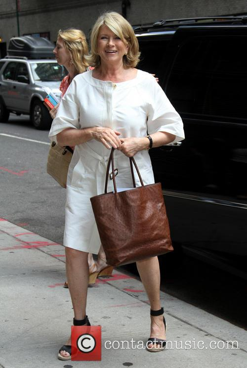 Martha Stewart, Ed Sullivan Theater, The Late Show