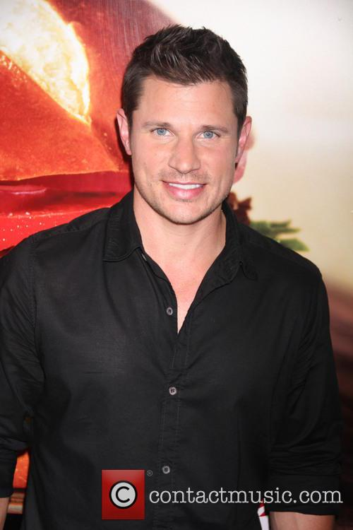 Nick Lachey at the launch of Wendy's Pretzel...