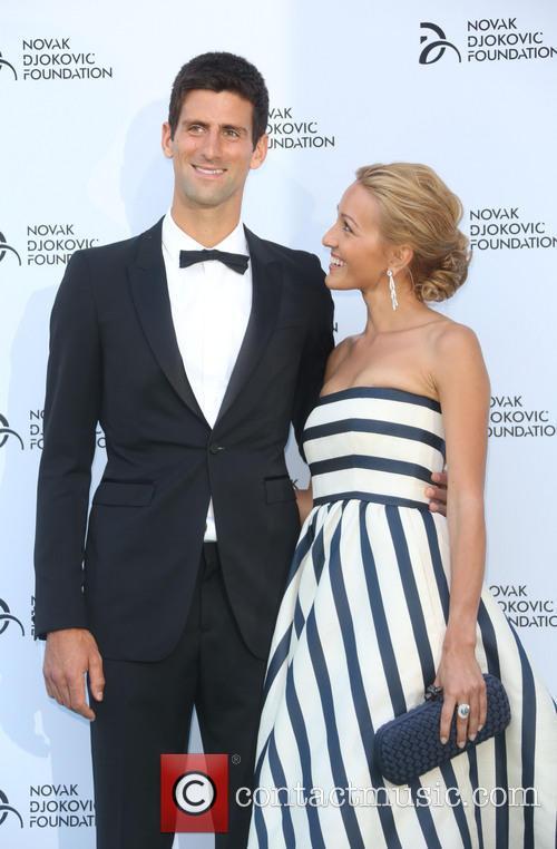 Jelena Ristic and Novak Djokovic 3