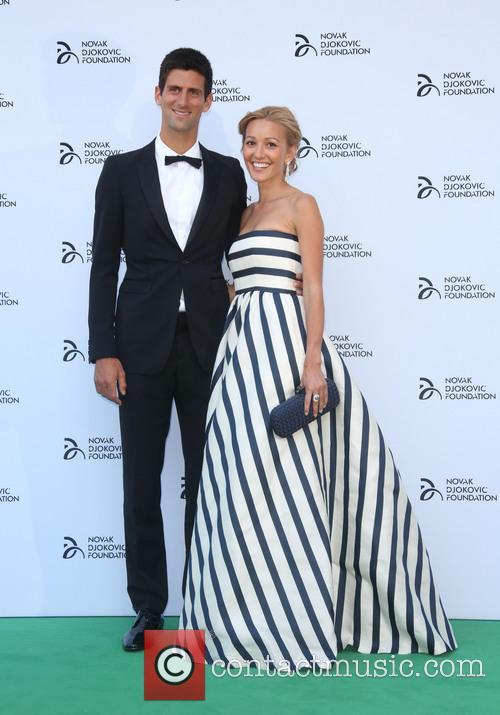 Jelena Ristic and Novak Djokovic 1