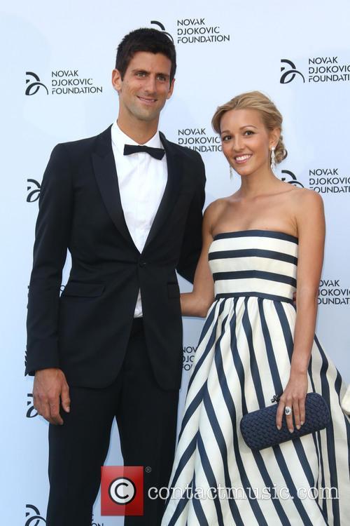 Jelena Ristic and Novak Djokovic 2