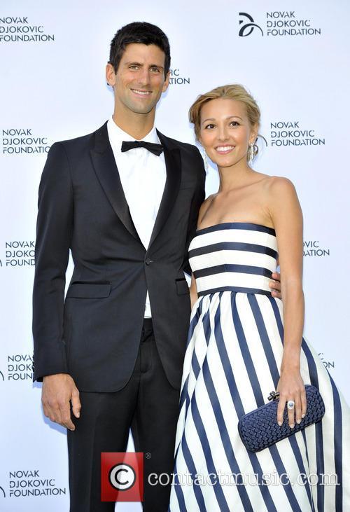 Novak Djokovic and Jelena Ristic 6