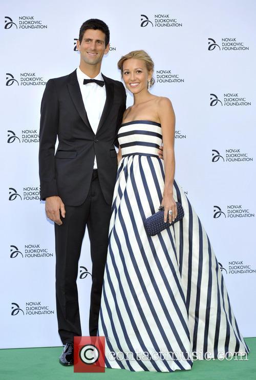 Novak Djokovic and Jelena Ristic 8