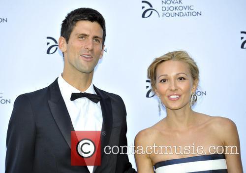 Novak Djokovic and Jelena Ristic 11