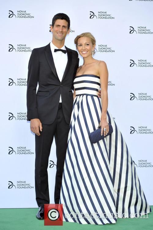 Novak Djokovic and Jelena Ristic 12