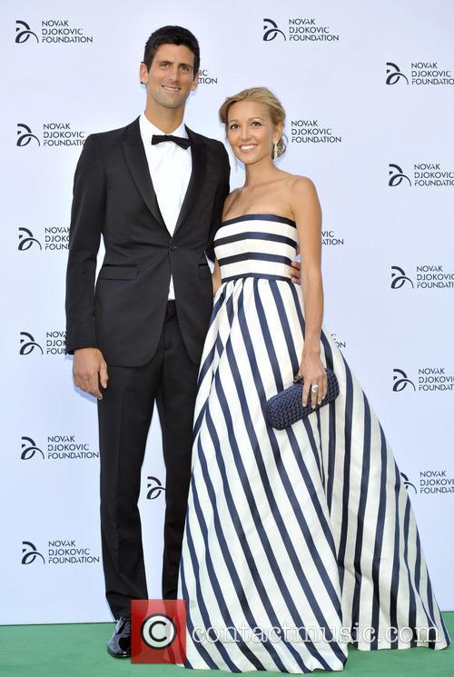 Novak Djokovic and Jelena Ristic 13
