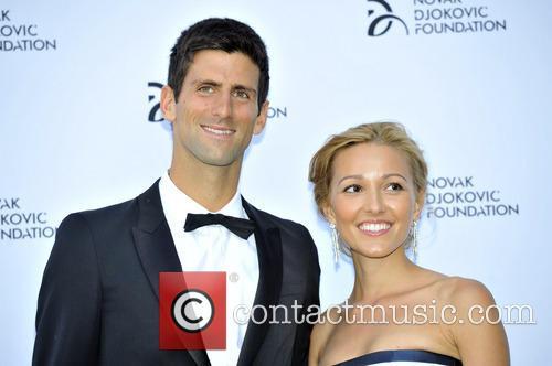 Novak Djokovic and Jelena Ristic 16