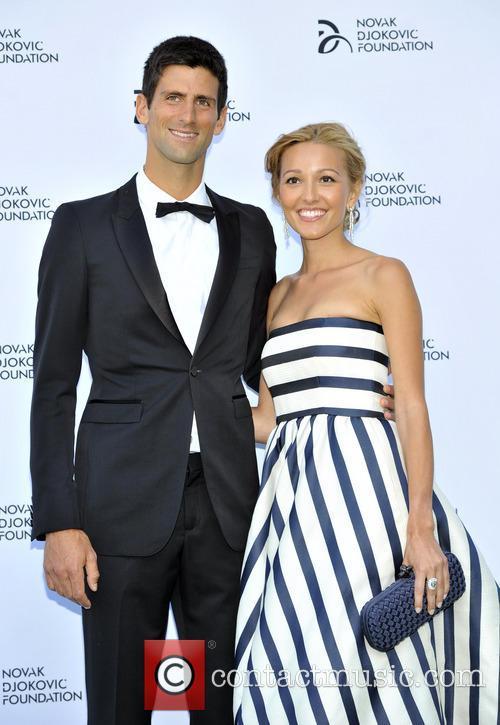 Novak Djokovic and Jelena Ristic 17