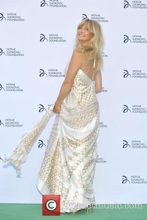 Goldie Hawn, Novak Djokovic Foundation Dinner