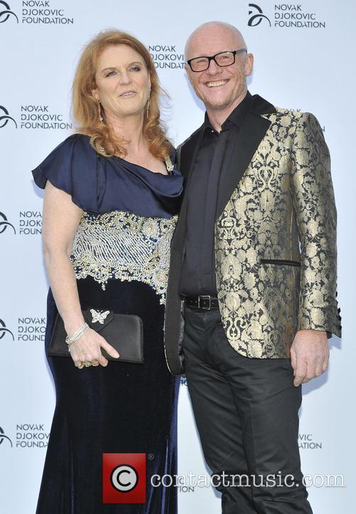 Sarah Ferguson and John Caudwell