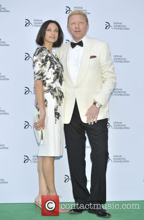 lilly becker boris becker novak djokovic foundation event 3749507
