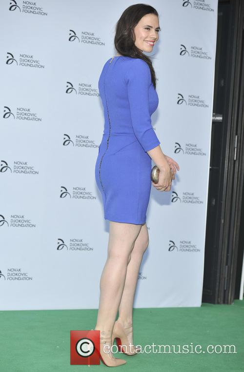 hayley atwell novak djokovic foundation event 3749541